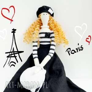 lalka paryżanka, lalka, dekoracja, dziewczynka, zabawka, tilda, glamour