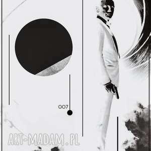 plakat bond nie czas umierać, minimalizm, filmowy, plakaty