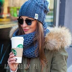 endorphine stalowy rycerz - jesień, zima, czapka, włóczka, handmade