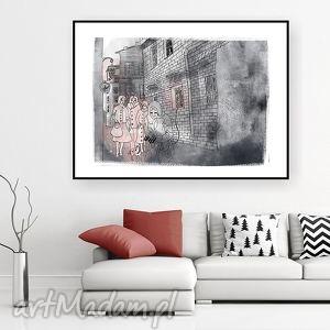 sleeping beauty... art print a4, grafika, ilustracja, obraz, baśniowe, dekoracja,