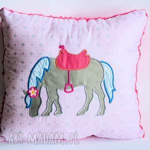 poduszka z konikiem - poduszka, koń, konik, dziewczynka, urodziny, romantyczna