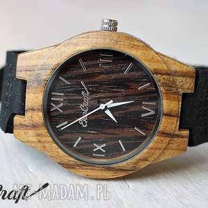 Drewniany damski zegarek SWALLOW, zegarek, drewniany, tekowy, ekologiczny, lekki