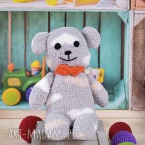 miś przytulanka - skarpeciak - miś, maskotka, przytulanka, zabawka, prezent, foto