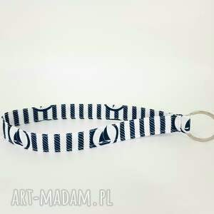 ręcznie robione breloki brelok do kluczy z żaglówkami