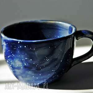 kubek galaktyczny jumbo niebieski, galaxy, galaktyczny, herbata, kawa, motyw