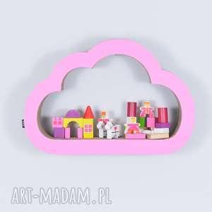 Półka na książki zabawki CHMURKA eco | różowy, półka, chłopiec, dziewczynka
