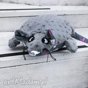 pani mysia- wyjątkowa maskotka handmade, myszka, maskotka, nietypowe, minky, zabawka