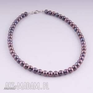Klasyczny naszyjnik z naturalnych pereł - Hand-Made