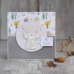 kartka urodzinowa, dla-dziecka, kartka-urodzinowa, życzenia, miś, zabawna-kartka