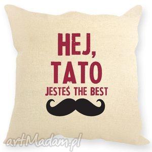 Poduszka dekoracyjna, prezent dla taty poduszki ehomi dzień-taty