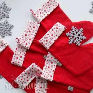 skarpeta świąteczna, skarpeta, święta, dekoracje, ozdoba