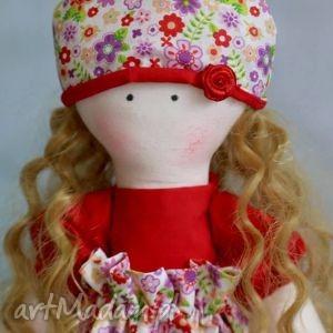 autorskie lalki lalka klara - samodzielnie stoi i siedzi