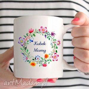 Kubek kochanej mamy na dzień matki 0292 ceramika artmini kubek