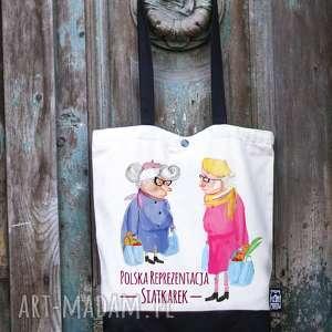 hand made prezenty na święta torba bawełniana reprezentacja polskich siatkarek
