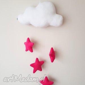pokoik dziecka mobil - chmurka z gwiazdkami, chmura, gwiazdki, mobil, ozdoba, dziecko