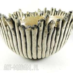 miska ceramiczna - rafa koralowa, prezent, patera, dekoracja, miska, sztuka, kuchnia