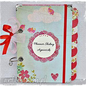 planner ślubny imienny, planner, ślubny, ślub, notatnik, personalizacja