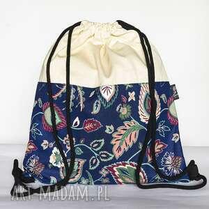 botanika ii, worek, plecak, workoplecak, botanika, kwiatowy, kwiaty, pod choinkę