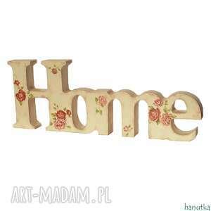 dekoracje różany domek - dekoracja, prezent, home, napis, angielskie, róże