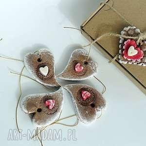 świąteczne pierniki -zawieszki choinkowe słodkie pierniki