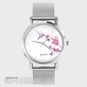 Prezent Zegarek, bransoletka - Koliber, oznaczenia metalowy, zegarek,