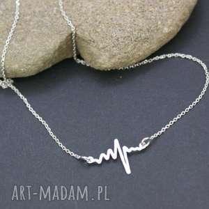 handmade naszyjniki naszyjnik srebrny linia życia