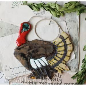 hand-made dekoracje indyk
