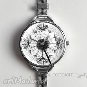 zegarki dmuchawiec - zegarek z dużą tarczką 0927ws, dmuchawiec, zegarek, dmuchawcem