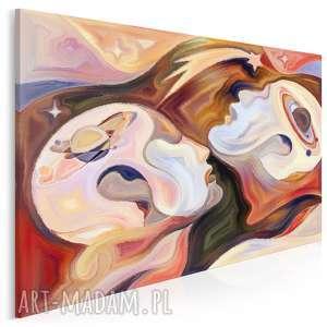 VAKU DSGN Obraz na płótnie - POSTACI KOSMOS - 120x80 cm