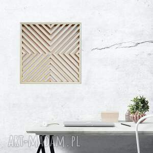 ręcznie robione dekoracje obraz z drewna, dekoracja ścienna /83 - ażur