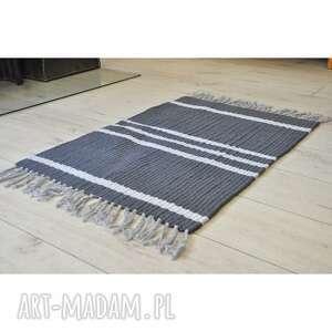 ladne meble dywan, chodnik bawełniany, ze sznurka