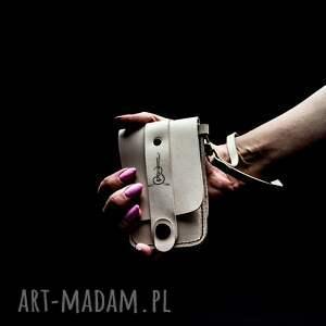 ręcznie robione portfele skórzane etui na karty z dodatkową kieszenią banknoty, portfel