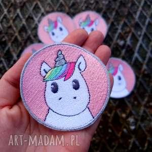 naszywka unicorn - ,naszywka,jednorożec,haft,unicorn,