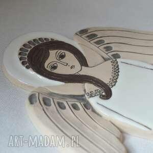 ceramika anioł ceramiczny - hvar, anioł, komunię, zawieszka, aniołek, ślub