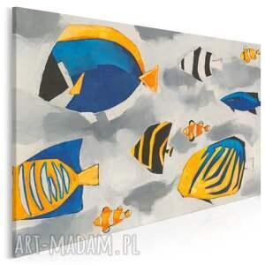 obraz na płótnie - ryby akwarium błazenek nemo 120x80 cm 702401, ryby, ryba