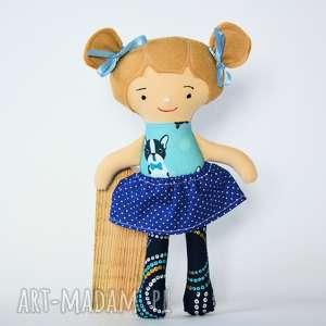 lala fruzia - maja 25 cm, lalka, fruzia, roczek, chrzest, dziewczynka, niemowlę dla