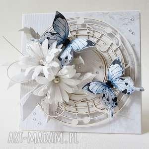 Z muzyką w tle - pudełku, gratulacje, życzenia, ślub, rocznica