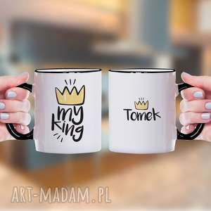 kubki my king - personalizowany kubek ceramiczny, kubek, king, prezent, dla-chlopaka