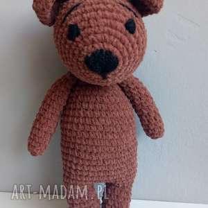 carmine design miś niedźwiedź brunatny amiqurumi, maskotki, miś, pluszak, przytulanka
