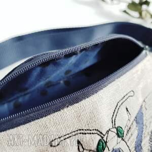 nerka z haftem zmierzchnica - ręcznie wykonane