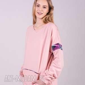 hand-made bluzy bluza damska basic różowa