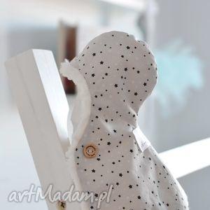 zimowa pelerynka baletnicy, zimowa, pelerynka, ubranko, lalki, sarenka