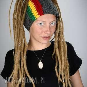 opaska dreadlove rasta 02, opaska, rasta, dready, dredy, czapka, reggae, unikalny