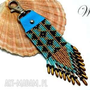 brelok do kluczy, brelok, skórka, elegancki, wizytowy, modny, świąteczny