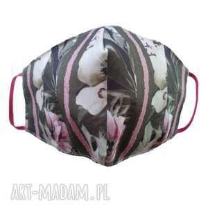 maska maseczka bawełniana 3 warstwy street wear, ochronna, maseczka