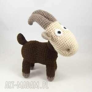 maskotki meeelunia - szydełkowa koza, kózka, koziołek, maskotka, pomysł