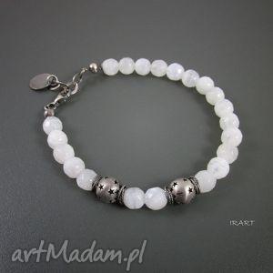 bransoletki księżycowa bransoletka z gwiazkami, księżycowy, bransoletka, srebro