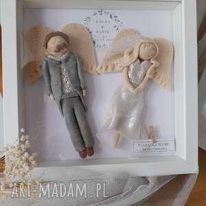 ona i on komplet aniołów na nową drogę życia, anioł, prezent ślub