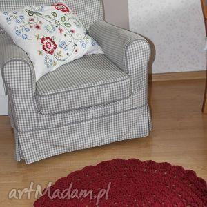 szydełkowy dywanik ze sznurka bawełnianego, dywan, dywanik, chodnik, chodniczek