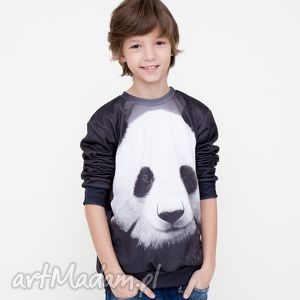 bluza dla dzieci z pandą, bluza, dziecięca, mrgugu, kids, sweater